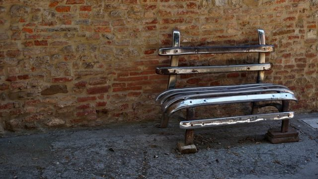 recycled bench